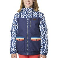 Куртка детская Rip Curl Snake Printed JKT patriot blue (2018)