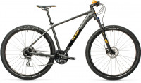 "Велосипед CUBE Aim Race 27.5"" darkgrey´n´orange (2021)"