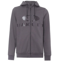 Толстовка мужская Oakley Bark FZ Hoodie Forged Iron (2021)
