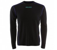 Термо-топ Bauer S17 basics BL LS Top YTH black