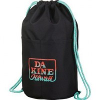 Рюкзак-мешок Dakine Cinch Pack 17L Black Tropical