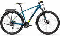 "Велосипед CUBE Aim Allroad 27.5"" pinetree´n´yellow (2021)"