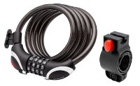 Замок-трос Schwinn 5FT X 12MM Combination Cable Lock W/Light