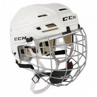 Шлем с маской CCM Tacks 110 white