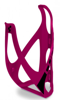 Флягодержатель Cube Bottle Cage HPP matt berry´n´black