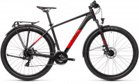 "Велосипед CUBE Aim Allroad 27.5"" black´n´red (2021)"