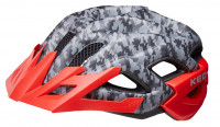 Шлем KED Status Junior camouflage anthracite red