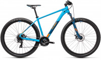 "Велосипед CUBE Aim 27.5"" blue´n´orange (2021)"