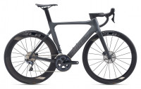 "Велосипед Giant  Propel Advanced 1 Disc 28"" Gunmetal Black / Chrome (2020)"